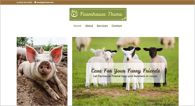Farmhouse Theme
