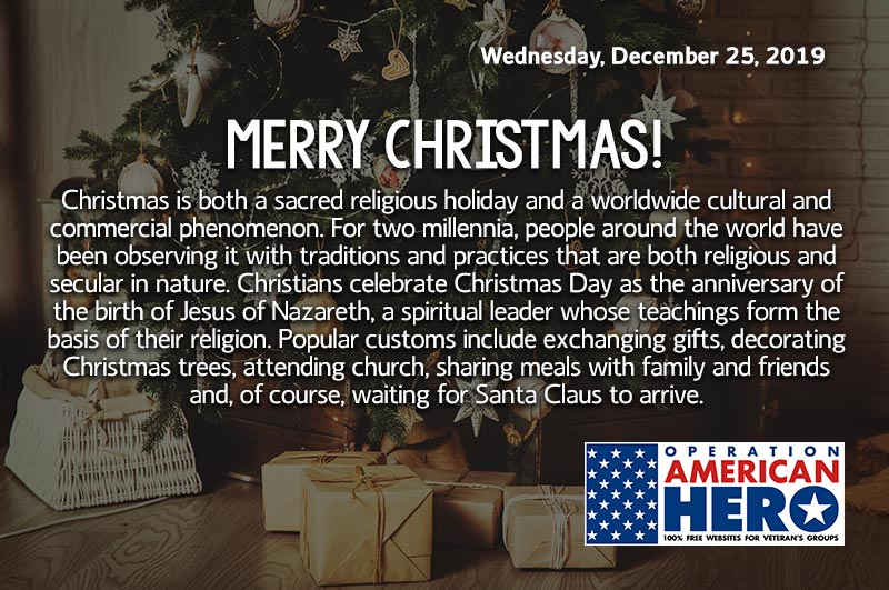 Merry Christmas, Operation American Hero